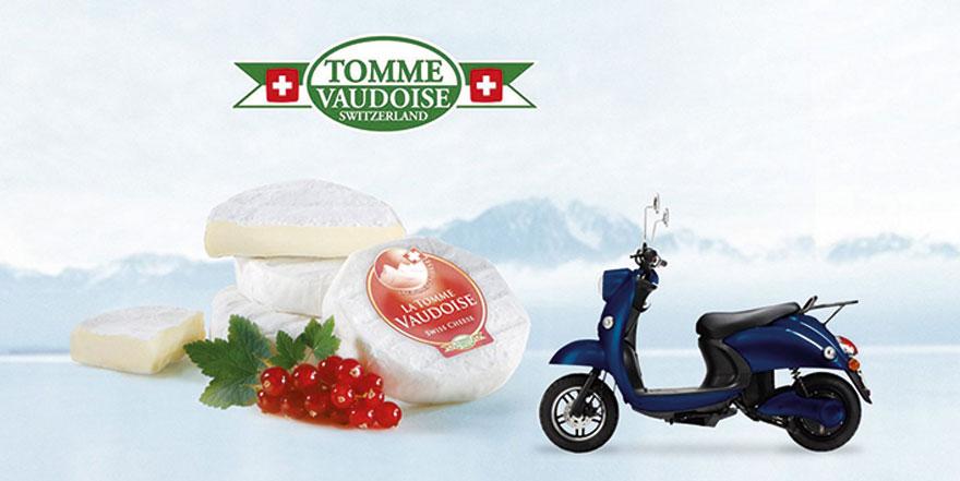 Gewinnspiel-Promotion Für Tomme De Vaudoise